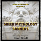Common Core Research Banner -Greek Mythology Report