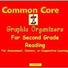 Common Core Second Grade Graphic Organizers for Reading