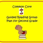Common Core Second Grade Guided Reading Group Plan