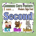 Common Core Second Grade Posters (I can . . . )