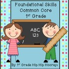 Common Core Skill Ring/Assessment...Foundational Skills 1st Grade