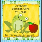 Common Core Skill Ring/Assessment...Language 1st Grade