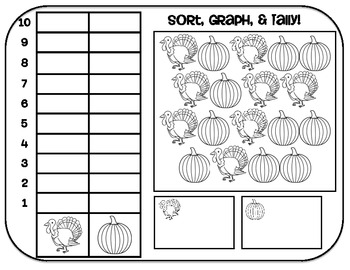 Common Core Sort, Graph, & Tally