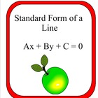 Common Core: Standard Form of A Line - Concept Attainment