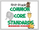 Common Core Standards Posters - 1st Grade - ELA & MATH (HA