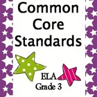 Common Core Standards 3rd Grade