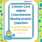 Common Core Standards Aligned - 19 Reading graphic organiz