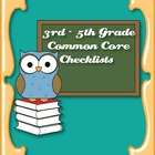 Common Core Standards ELA & Math Checklist for 3rd - 5th Grade