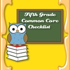 Common Core Standards ELA & Math Checklist for Fifth Grade
