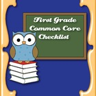Common Core Standards ELA & Math Checklist for First Grade