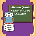 Common Core Standards ELA & Math Checklist for Fourth Grade