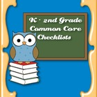 Common Core Standards ELA & Math Checklist for Kindergarte