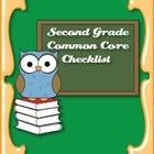 Common Core Standards ELA & Math Checklist for Second Grade