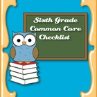 Common Core Standards ELA & Math Checklist for Sixth Grade