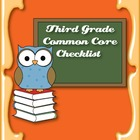 Common Core Standards ELA & Math Checklist for Third Grade