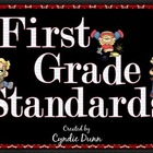 Common Core Standards - First Grade &quot;I Can&quot; Statements