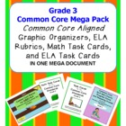 Common Core Standards Grade 3 Mega Pack