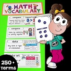 Interactive Math Notebook Vocabulary K-2