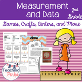 Common Core Math Measurement and Data {Games, Crafts, Cent