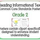 Common Core Standards Posters Grade 2 - Reading Informatio