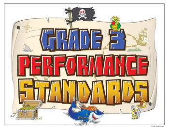 Common Core Standards Posters - Pirate Theme