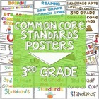 Common Core Standards Posters for Third Grade