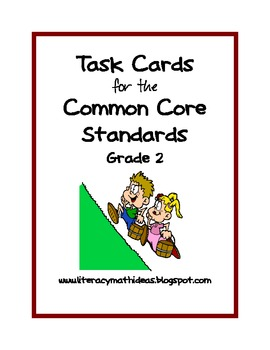 Common Core Standards Task Cards:  Grade 2