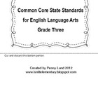 Common Core Standards for ELA & Mathematics Layered Flipbo
