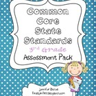 Common Core State Standards 3rd Grade Assessment Checklist