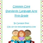 Common Core State Standards Book with Worksheets First Gra