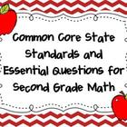 Common Core State Standards and Essential Questions for 2n