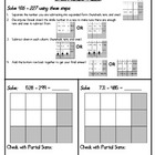 Common Core Subtraction Strategies