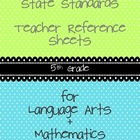 Common Core Teacher Reference Sheets - 5th Grade