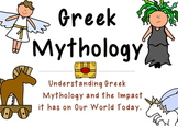 Common Core - The Myth Files:  A Greek Mythology Unit