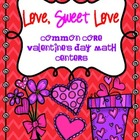 Common Core Valentine's Day Math Activities