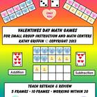 Common Core Valentines Day Math Games