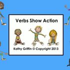 Common Core Verbs Show Action Mini Video Fun