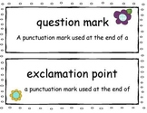 Common Core Vocabulary Cards for Language Arts First Grade