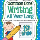 Common Core- Writing All Year Long {narrative, information