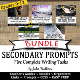 Prompt Pack Bundle: Writing Argumentative, Narrative, & Re
