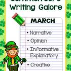 Common Core Writing Galore - March