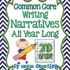 Common Core: Writing Narratives All Year Long in Second Grade