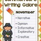 Common Core Writing- November