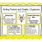 Common Core Writing Posters and Graphic Organizers