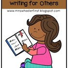 Common Core Writing Workshop Mini-Lessons: Unit 2-Writing