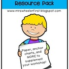 Common Core Writing Workshop Resources Kit {k-2}