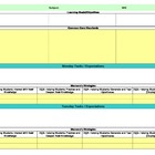 Common Core/Marzano Interactive Lesson Plan Template-Fifth