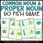 Common Nouns and Proper Nouns &quot;Go Fish&quot; game