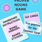 Common Proper Nouns Game