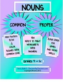 Common Proper Nouns Worksheets